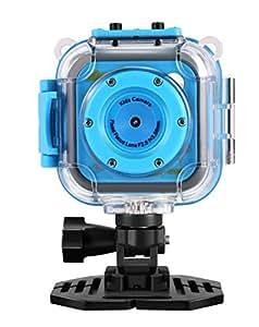 GAKOV Kids Camera, GACD WiFi 1280P 2MP Underwater Kids Camera 20m Waterproof Sports Camera for Kids