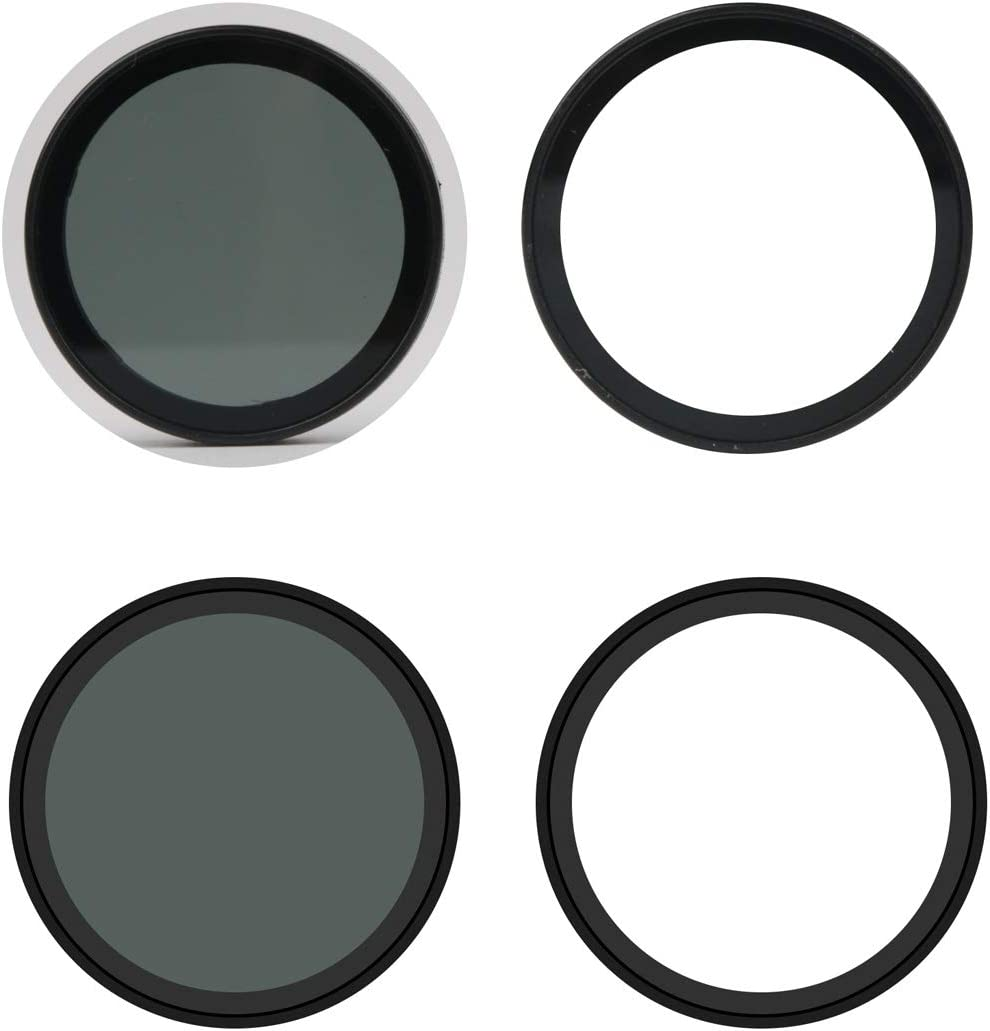 LAILINSHENG Camera Accessories for Xiaomi Mijia Small Camera 38mm UV Protection Black Color : Black ND Dimmer Lens Filter
