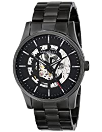 Bulova Caravelle New York  Men's 45A121 Analog Display Japanese Automatic Black Watch