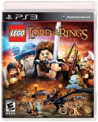 LEGO, The Lord of The Rings with The Fellowship of The Ring Blu-Ray