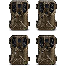 Stealth Cam 8MP No Glo IR Infrared Game Trail Hunting Cameras (4 Pack) | PX36NG