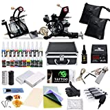 equipment Complete Tattoo Starter Kit 2 Guns Supply Set Equipment D10-24