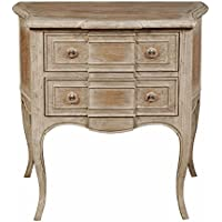 Pulaski Rustic Petit Alek Accent Chest with Whitewash, Brown