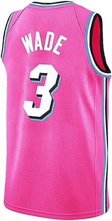 HSWU-DRESS NBA Miami Heat Dwyane Wade # 3 Camiseta ...