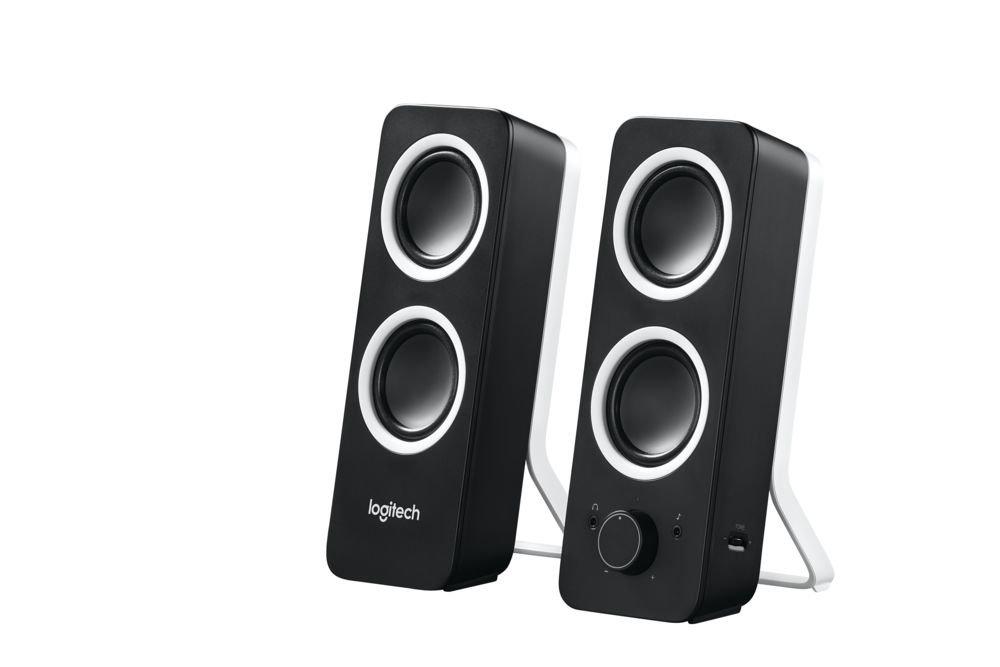 Logitech Z200 Speaker - Midnight Black   B00FSF2OSS