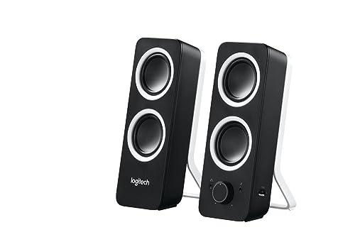 Logitech Z200 Multimedia Speakers/PC Speakers - Midnight Black