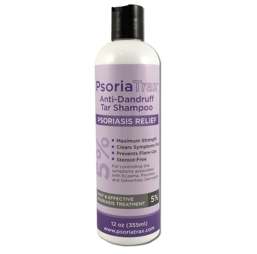 Psoriatrax 5% Coal Tar Psoriasis Shampoo 12oz