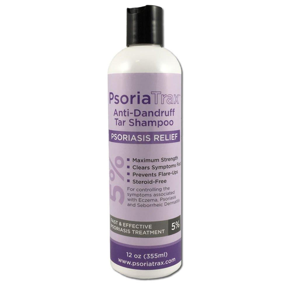 Psoriatrax 5% Coal Tar Psoriasis Shampoo 12oz by Psoriatrax