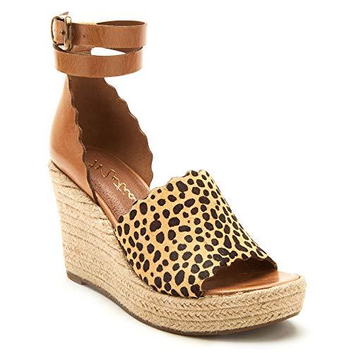 Matisse Women's Roma Espadrille Sandal Tan/Leopard 8 M US