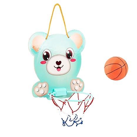 STOBOK Montado en la Pared Mini Baloncesto Juguete de aro Balones ...