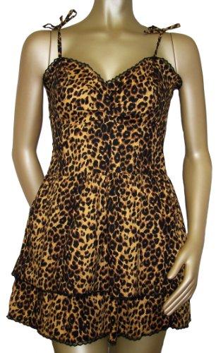 cheetah babydoll dress - 1