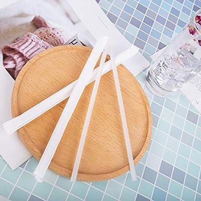 Pajitas biodegradables PLA para beber – Pajitas envueltas de papel ...