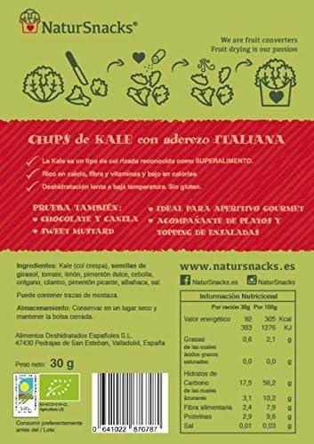 BIO Kale Chips - Italiana 3x30gr: Amazon.es: Alimentación y bebidas