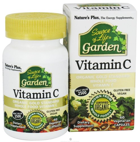 Nature's Plus. Source of Life Garden Vitamin C - 60 - Vc (3 Bottles) by Nature's Plus