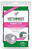 Vet's Best Perfect Fit Washable Female Dog Diaper, 1 count