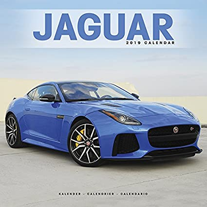 Calendario 2019 Jaguar - Coche Collection - Coche de ...