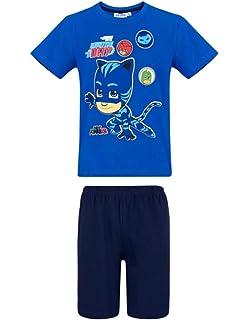 4925de4c6113f Les Pyjamasques T-Shirt Manches Longues Enfant garçon Rouge de 3 à 8ans  TSML-