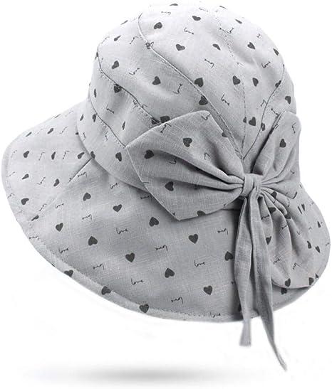 HUOLIMAO Moda para Mujer Caza Pesca Cubo Sombrero Gorra Chica ...