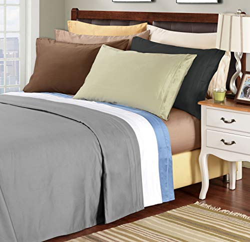 (Superior 100% Egyptian Cotton 1500 Thread Count Sheet Set, Queen,)