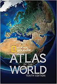 National geographic atlas of the world tenth edition national national geographic atlas of the world tenth edition national geographic 9781426213540 amazon books gumiabroncs Gallery