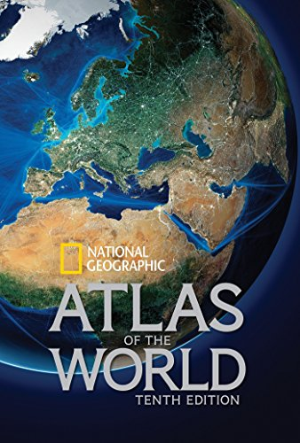 Book cover from National Geographic Atlas of the World, Tenth Edition by National Geographic