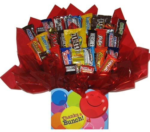 Chocolate Candy bouquet (Thanks a Bunch Gift Box) by So Sweet of You