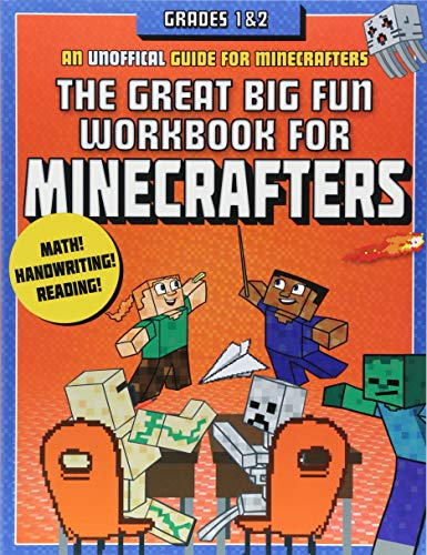 The Great Big Fun Workbook for Minecrafters: Grades 1 & 2: An Unofficial Workbook by Sky Pony Press (Image #2)