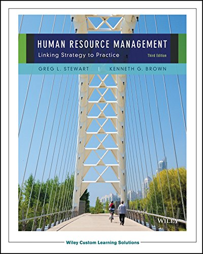 Human Resource Management, Linking Strategy to Practice, 3rd Edition