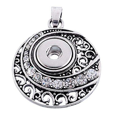 Antique Button Necklace - 7