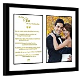Son Wedding Gift from Mom – Touching Mother to Son Poem – Add Photo to Frame