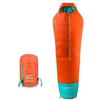sanva profesional de saco de dormir momia saco de dormir 400 g/m² Ultraleicht pequeño