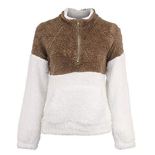 d'automne Kaki Xinantime hiver T Peluche Tops d'hiver femme Automne Femmes shirts Blouse Tops Pour Chemise en q0HBZ
