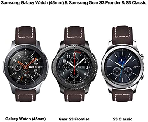 Amazon.com: VIGOSS Leather Strap Compatible with Galaxy ...