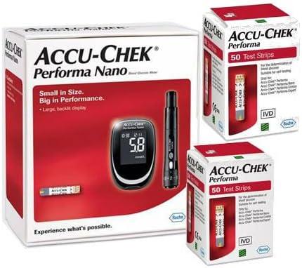 Accu Chek Performa Nano Glucometer Kit