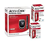 Accu Chek Performa Nano Glucometer Kit 100 Test