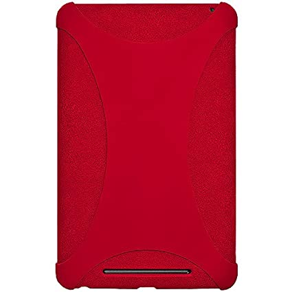 Amzer 94385 Silicone Skin Jelly Case Red for Google Nexus 7 2012 Touch Screen Tablet Bags & Cases at amazon
