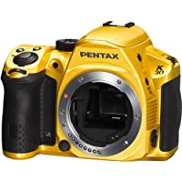 Pentax K-30 lens kit w DA 18-55WR Weather-Sealed 16 MP CMOS Digital SLR (Crystal Yellow) [Electronics]