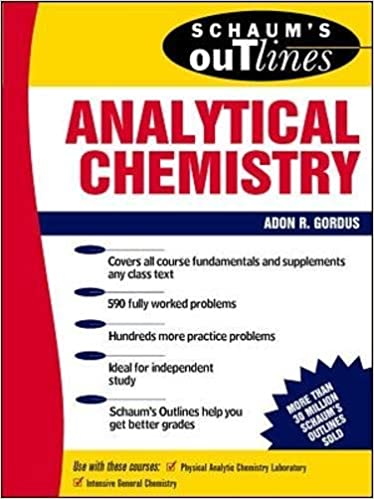 Pdf books analytical chemistry