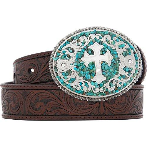 girls belt buckles western - 4