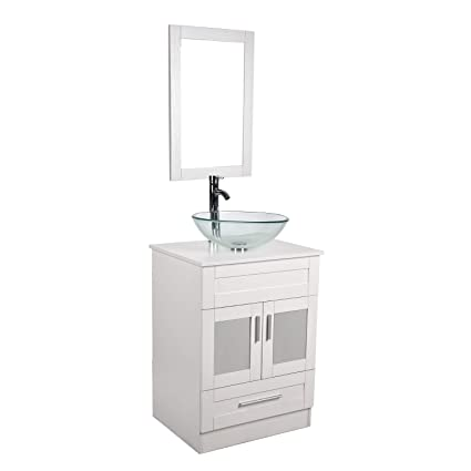 Amazon Com 24 Inches Traditional Bathroom Vanity Set Single