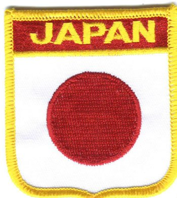 Japan - Country Shield Patch