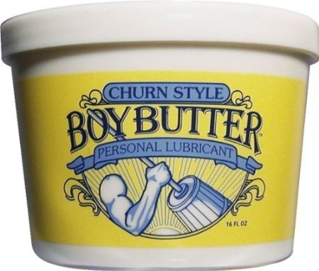 Boy Butter Original - Lubrifiant personnel, 16 oz, Baignoire