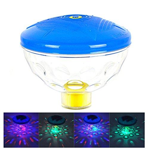 Aqua Glow Floating - Disco Aqua Glow Floating LED Light Swim Show Pond Pool Spa Tub Lamps Underwater