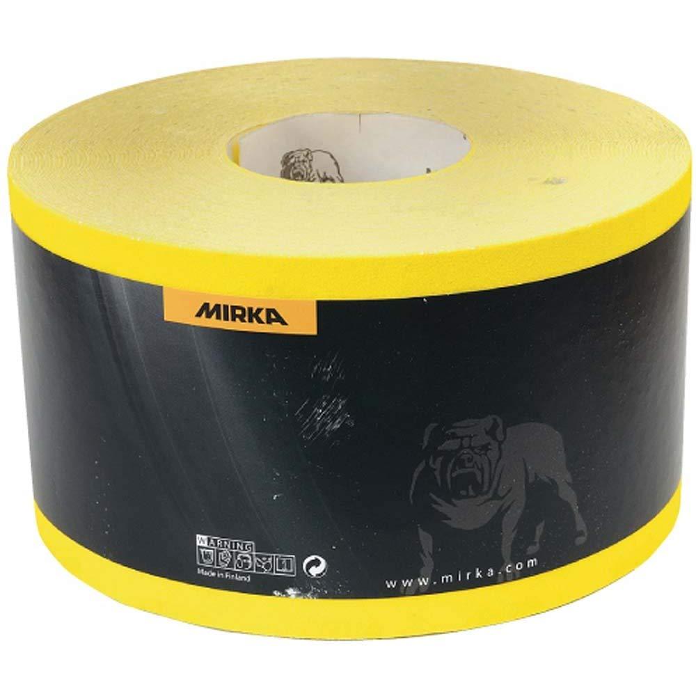 Schleifpapierrolle MIRKA MIROX 93 mm Rolle mit 50 m strapazierfä higem Schleifpapier P180