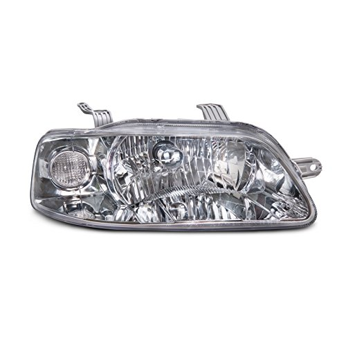 (Headlights Depot Replacement for Chevrolet Chevy Aveo Sedan/Hatchback New Passenger Side Headlight)