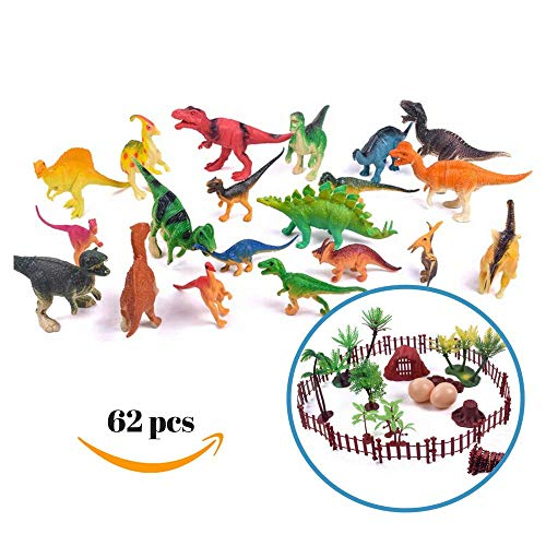 - DripDrop Dinosaur Toys Set, Realistic Dinosaurs Action Figure Toddlers Kids Educational Learning Resources, 20 Big Small Dino Pack(T Rex, Spinasaurus, Brachiosaurus, Velociraptor,Pterodactylus etc)