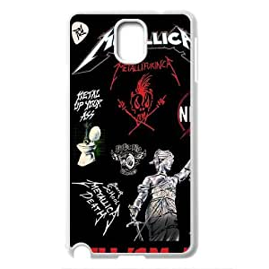 Band King Metallica James Hetfield Hard Plastic phone Case Cove For Samsung Galaxy NOTE 3 Case JWH9186255