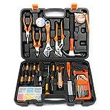 YaeTek 100-Piece Home Tool Kits Multi-functional & Universal 100 IN 1 Precision Screwdriver