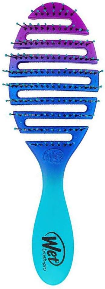 Wet Brush Flex Dry - Cepillo para el pelo, color verde azulado