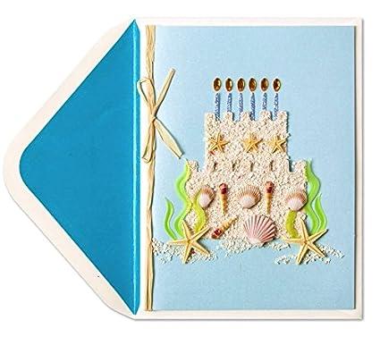 Papyrus Birthday Card Cake Castle